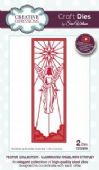 Sue Wilson Craft Dies - Festive Collection - Illuminated Angel Mini Striplet - CED3059